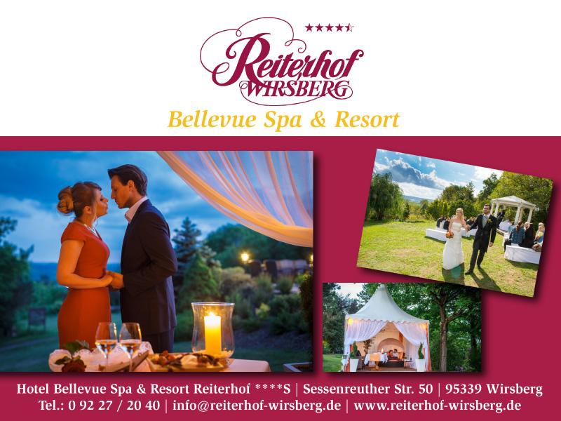 Einfach herrlich feiern - im Wellness- und Hochzeitshotel Bellevue Spa