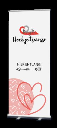 Banner virtuelle Hochzeitsmesse